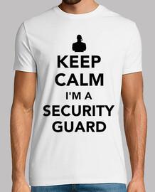 mantener la calma que soy un guardia de seguridad