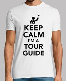 mantener la calma que soy un guía turístico