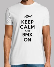 mantener la calma y bmx en
