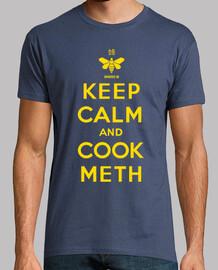 mantener la calma y cocinar metanfetamina