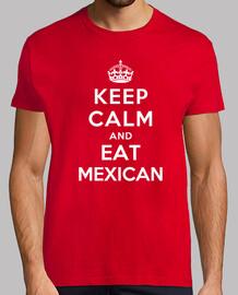 mantener la calma y coma mexicano