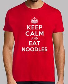 mantener la calma y comer fideos
