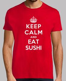 mantener la calma y comer sushi
