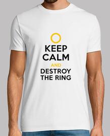 Mantener la calma y destruir el anillo