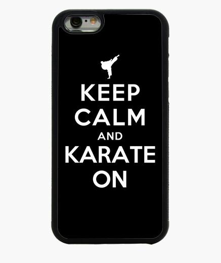 Funda iPhone 6 / 6S mantener la calma y el karate de