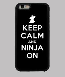 mantener la calma y el ninja