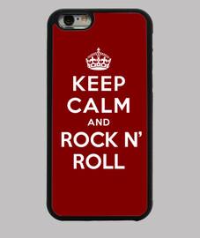 mantener la calma y el rock and roll