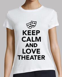 mantener la calma y el teatro amor