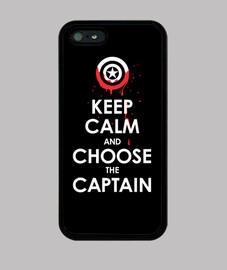 mantener la calma y elige el capitán