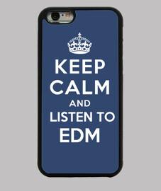 mantener la calma y escuchar edm