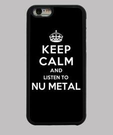 mantener la calma y escuchar nu metal
