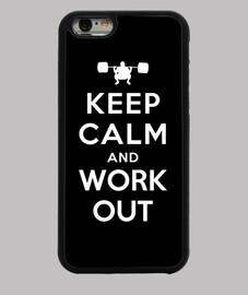 mantener la calma y hacer ejercicio