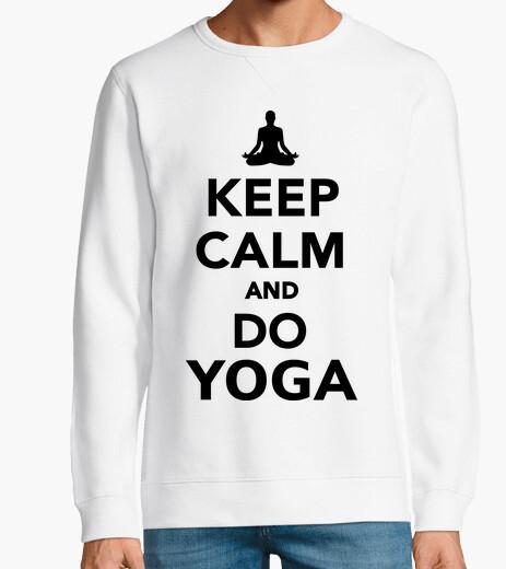 Jersey mantener la calma y hacer yoga