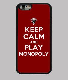mantener la calma y jugar al monopolio