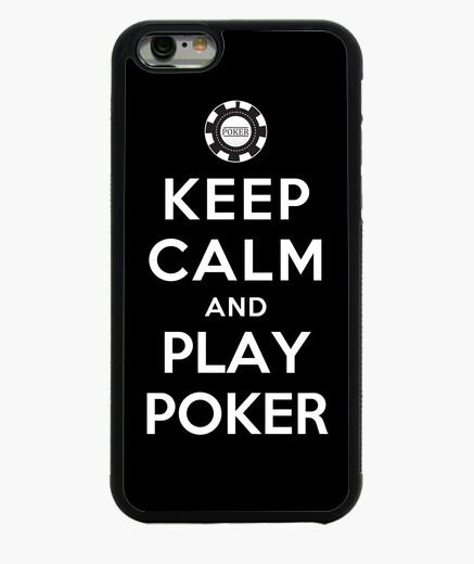 Funda iPhone 6 / 6S mantener la calma y jugar al póquer