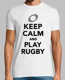 mantener la calma y jugar al rugby
