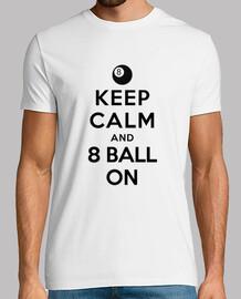 mantener la calma y la bola 8 en