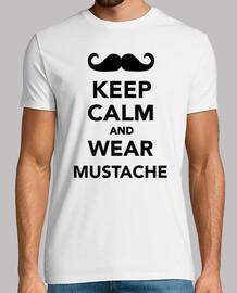 mantener la calma y llevar bigote
