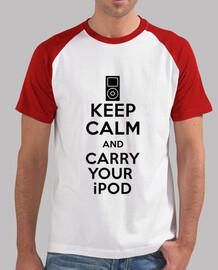 Mantener la calma y llevar su ipod
