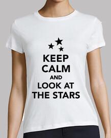 mantener la calma y mirar las estrellas