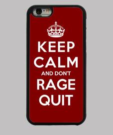 mantener la calma y no te dejar la rabia