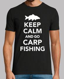 mantener la calma y pescar carpas