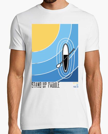 Camiseta mantener la calma y remar