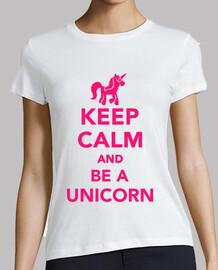mantener la calma y ser un unicornio