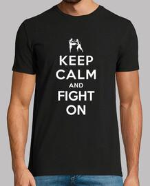 mantener la calma y sigue luchando
