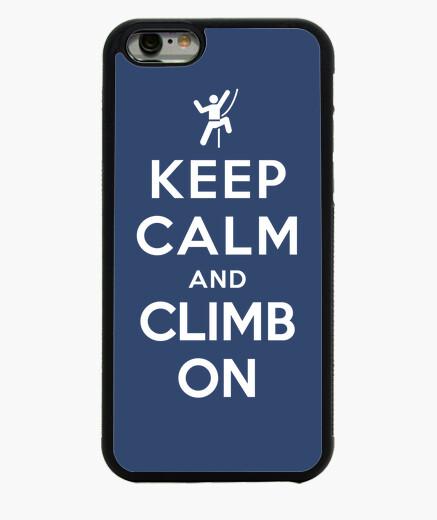 Funda iPhone 6 / 6S mantener la calma y subir en