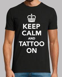 mantener la calma y tatuar