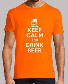 Mantener la calma y tomar cerveza