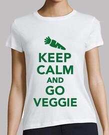 mantener la calma y vaya de vegetales