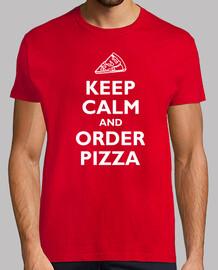 mantener la pizza calma y el orden