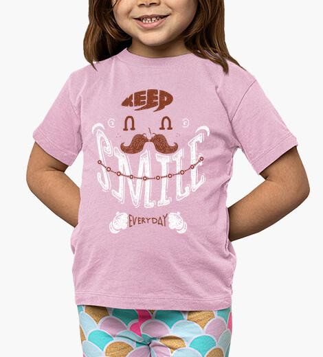 Ropa infantil mantener una sonrisa todos los días