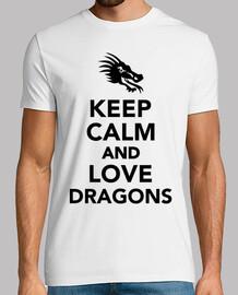 mantenere draghi calma e amore