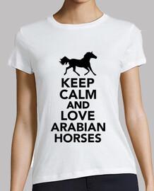 mantenere la calma e ad amare i cavalli arabi