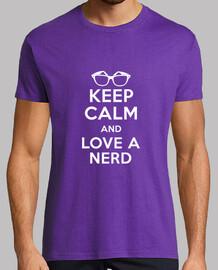 mantenere la calma e amore di un nerd