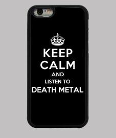 mantenere la calma e ascoltare death metal