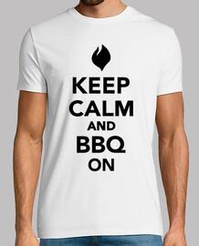 mantenere la calma e barbecue sulla