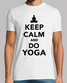 mantenere la calma e fare yoga