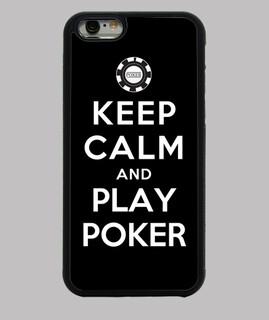 mantenere la calma e giocare a poker