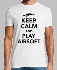 mantenere la calma e giocare airsoft