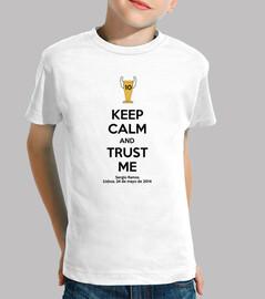 mantenere la calma e la fiducia di me