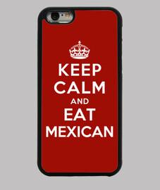 mantenere la calma e mangiare cibo messicano