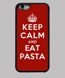 mantenere la calma e mangiare pasta