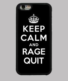 mantenere la calma e rabbia uscire