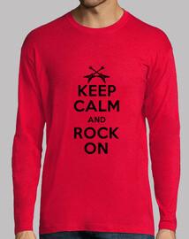 mantenere la calma e rock on