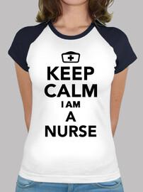 mantenere la calma im un'infermiera