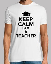mantenere la calma sono un insegnante